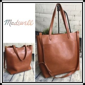 Madewell | Medium Transport Tote | English Saddle